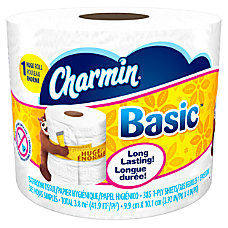 Charmin Basic Big Roll 1 Ply
