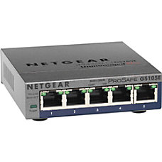 Netgear ProSafe Plus 5 Port Gigabit