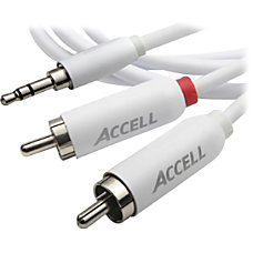 Accell RCA 35mm to Stereo Audio