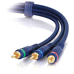 C2G 15ft Velocity RCA Component Video