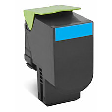 Lexmark 80C1HC0 High Yield Cyan Toner