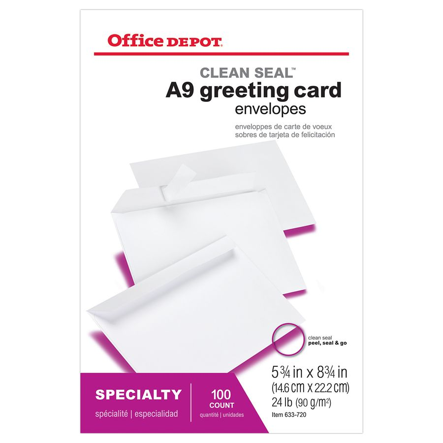 lined & invitation envelopes at office depot officemax, Wedding invitations