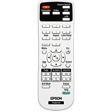 Epson Replacement Projector Remote Control