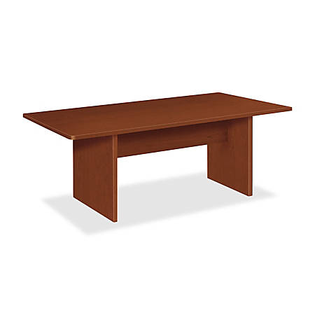 Basyx by hon bl series rectangular conference table with for Serie a table 99 00
