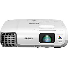 Epson PowerLite 965H LCD Projector HDTV