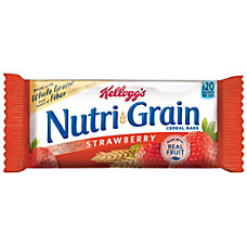 Kelloggs Nutri Grain Bars Strawberry 13
