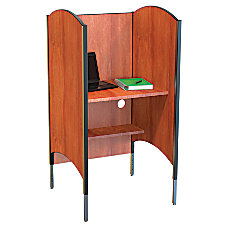 Balt Height Adjustable Laminate Carrel 57