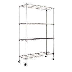 Alera Complete Steel Wire Shelving Unit