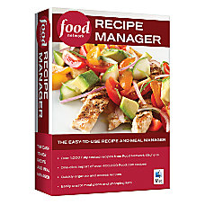 Food Network Recipe Manager For Mac