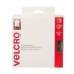 VELCRO Brand Clear Hook Loop Fastener