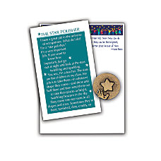 Star Polisher Notepad And Lapel Pin