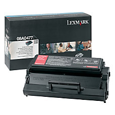 Lexmark 08A0477 High Yield Black Toner