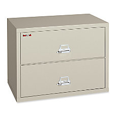 FireKing Insulated 2 Drawer Lateral Records