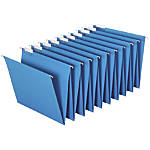 Globe Weis Hanging Accordion Folders Letter