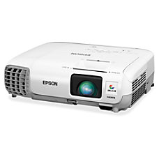 Epson PowerLite X27 LCD Projector HDTV