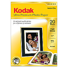 Kodak Ultra Premium Photo Paper High