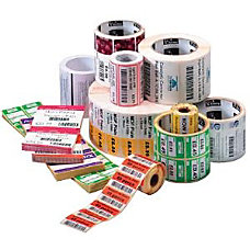 Zebra Label Paper 225 x 125in