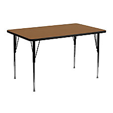 Flash Furniture Rectangular Activity Table 30