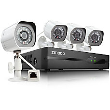 Zmodo 4 Channel 720P NVR system