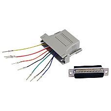 StarTechcom DB25 to RJ45 Modular Adapter