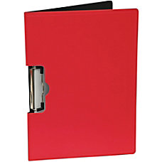 Mobile Ops Portfolio Clipboard Horizontalizontal RED
