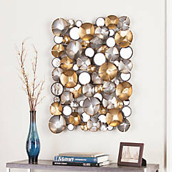 Southern Enterprises Locarno Metal Wall Sculpture