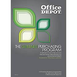 Office Depot Greener Purchasing Program Guide