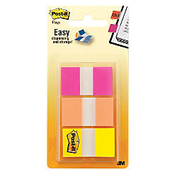 Post it Flags 1 Assorted Colors