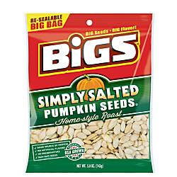Bigs Pumpkin Seeds Simply Salted 5