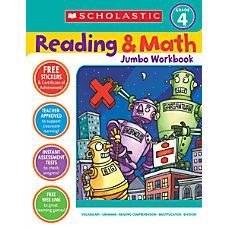 Scholastic ReadingMath Grade 4