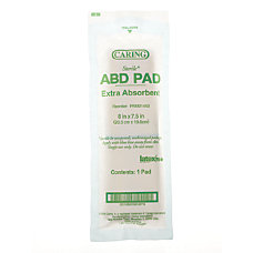 Caring Non Sterile Abdominal Pads 8