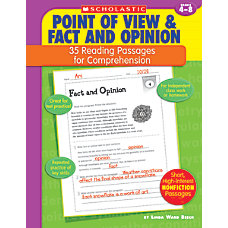 Scholastic Comprehension Point Of View Grades