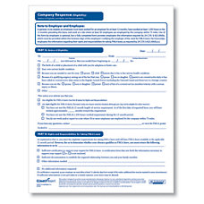 ComplyRight FMLA Eligibility Company Response Forms