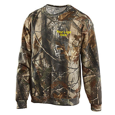 Camouflage Sweatshirt Realtree Camo By Office Depot
