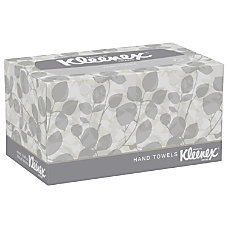 Kleenex 1 Ply 50percent Recycled Hand
