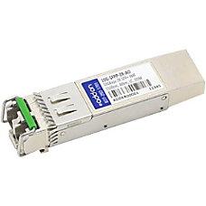 AddOn Brocade 10G SFPP ZR Compatible