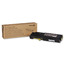 Xerox 106R02244 Yellow Toner Cartridge