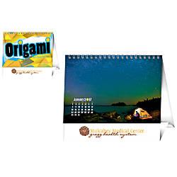 Origami Desk Calendar January December