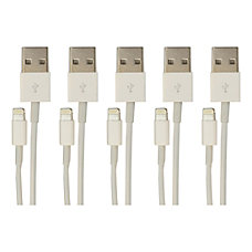 Visiontek Lightning to USB White Charge