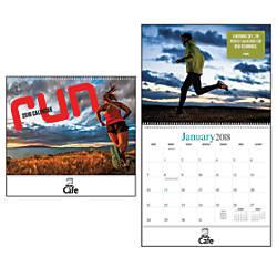 Run Wall Calendar 10 x 11