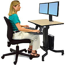 Ergotron WorkFit PD Sit Stand Table