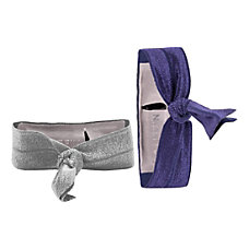 Griffin Ribbon Wristband 2 Pack SilverPurple