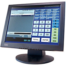 Logic Controls LE1000 Touchscreen LCD Monitor