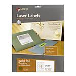 Maco Permanent Gold Foil Seals Pack