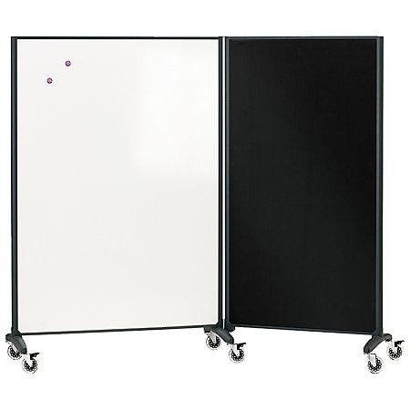 Quartet® Room Divider Connector Kit, Black - Quartet Room Divider Connector Kit Black By Office Depot & OfficeMax