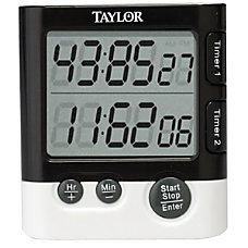 Taylor Dual Event Timer Table Clock