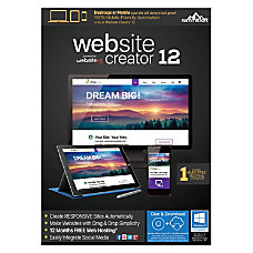 Summitsoft Website Creator 12 Traditional Disc