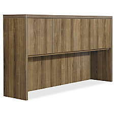 Lorell Chateau Series Walnut Laminate Desking