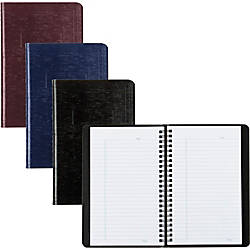 Rediform Assorted Wirebound Notebooks 80 Sheets