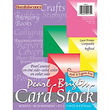 Pacon Reminiscence Card Stock Letter 850